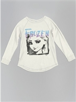 Frozen Graphic Tee-White