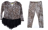 Little Mass Leopard Tunic and Legging Set
