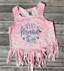 It's A Mermaid Thing Fringe Tank