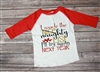 I Made The Naughty List I'll Try Again Next Year Raglan Tee